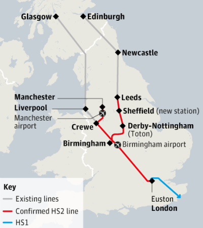 high speed two cities and the north south divide